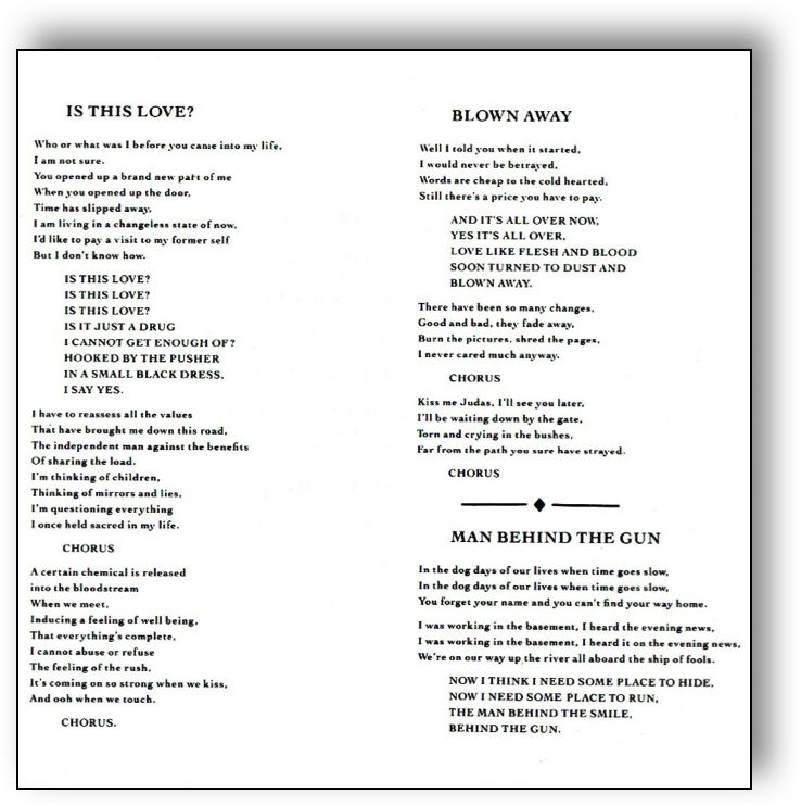 Lyric lyrics to down to the river : King Swamp - Lyrics